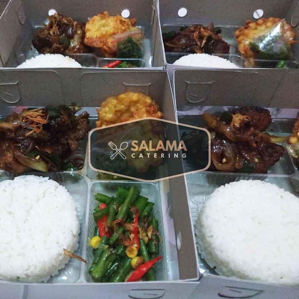 katering nasi kotak ayam kecap jakarta salama catering